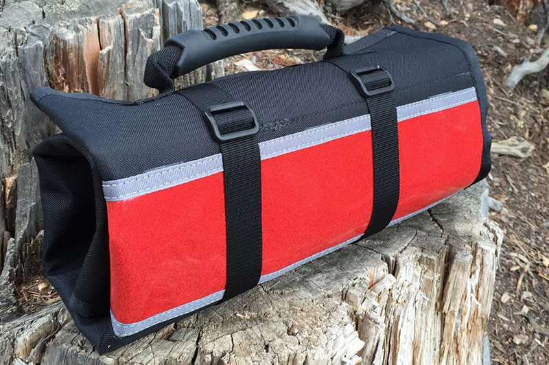 Pro Mechanics' Tool Roll Red