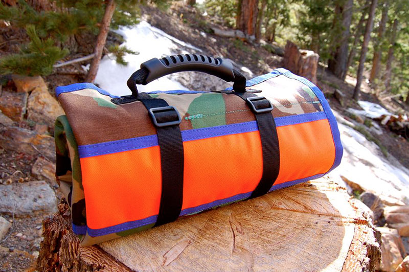 Pro Mechanics' Tool Roll Orange